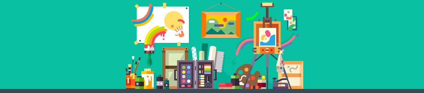 Ideeen voor een klein atelier