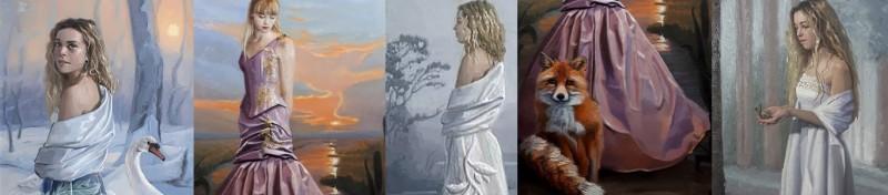 Gabriëlle Westra schilderijen